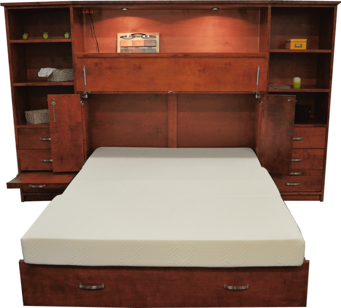 Park Avenue Pier Unit Cabinet Bed